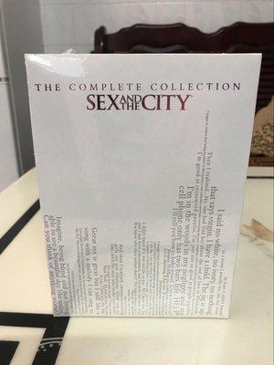 【優品音像】 高清DVD原版美劇欲望都市 Sex and the City1-6完整未刪減版17碟 精美盒裝