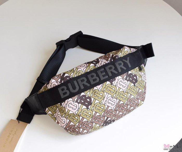 【小黛西歐美代購】Burberry 巴寶莉 2019款 花色腰包 歐美時尚  美國outlet代購