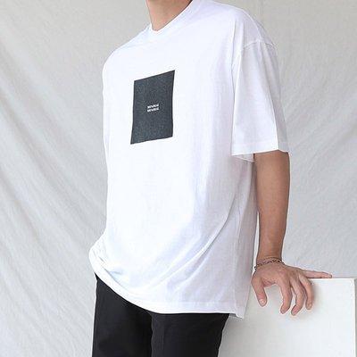 KOREALINE搖滾星球 / MINIMAL極簡印刷短T / 3色 / HNT5802