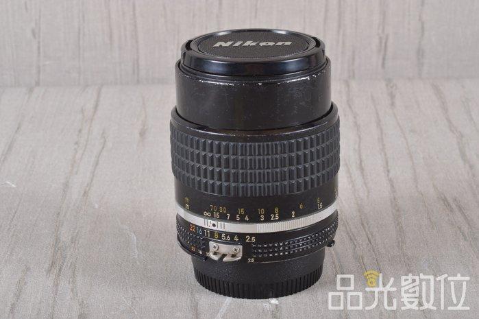 【品光數位】NIKON Ais 105mm F2.5 手動 定焦 阿富汗少女 #98802
