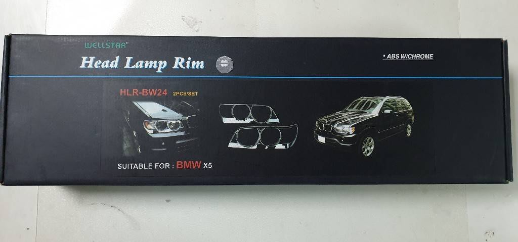 BMW E53 X5 鍍鉻大燈框