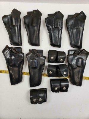 M10左輪直拔式皮套 + 彈袋