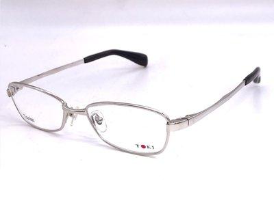 【本閣】增永眼鏡 masunaga/TOKI TK5001 日本手工眼鏡 純鈦 金屬框 彈性 999.9 masaki