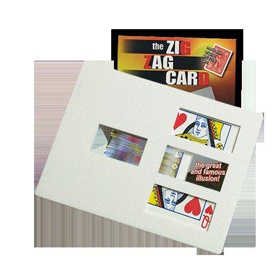 [魔術魂道具Shop]紙牌切割術~~ZIG-ZAG Card by Di Fatta  附中文補充教學