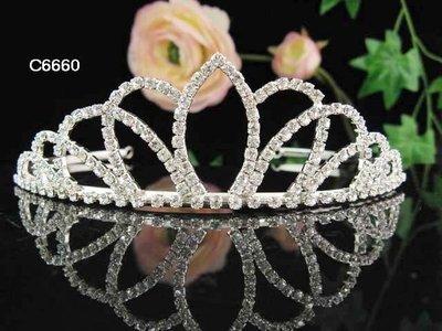結婚飾物;結婚頭飾;新娘婚禮頭飾;新娘頭飾;婚禮皇冠; BRIDE BAND;BRIDAL HEADPIECE;WEDDING TIARA COMB #6660