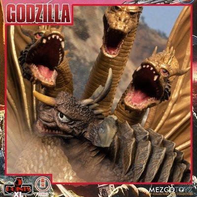 MEZCO 哥吉拉 Destroy All Monsters 5 Points XL系列 4.5吋 盒組2~1月上市