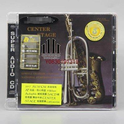 爆款CD.唱片~CAPC8824SA Wilson Audio CENTER STAGE 舞臺中央 SACD