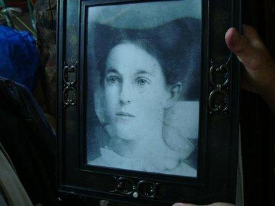 御寶閣Viboger~古董文物藝品~萬聖節 美麗又恐怖鬼相框