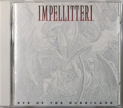 Impellitteri - Eye Of The Hurricane 二手日版