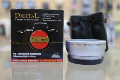【日產旗艦】出清優惠 Digital 58mm 廣角鏡 0.5倍 Marco