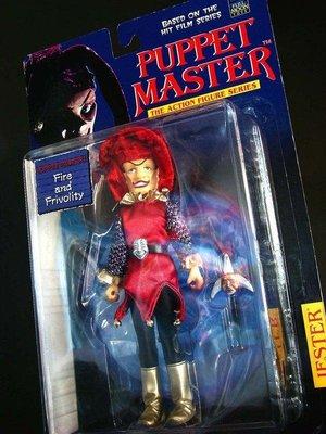 1998 魔偶奇譚 PUPPET MASTER 小丑 JESTER 紅 富貴玩具店
