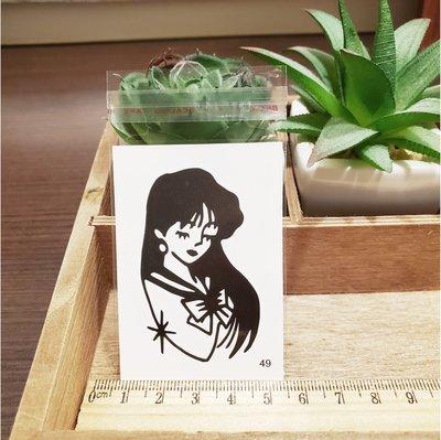 【萌古屋】百態人生49單圖 - 男女防水紋身貼紙刺青貼紙 K43