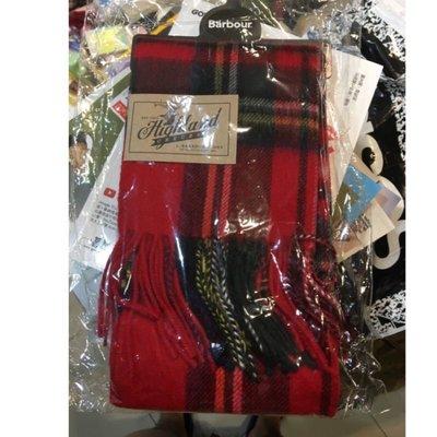 Barbour cashmere  圍巾 全新 格紋 經典 英倫 英國品牌 羊毛 喀什米爾 學院風 (uniqlo 無印良品 可參考)