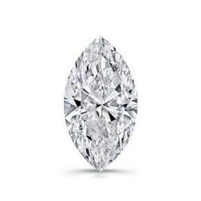 GIA 1.08克拉 H SI1 Marquise Cut Diamond (一克拉馬眼切刻鑽石價格)