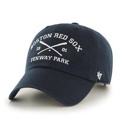 【血拼妞】47 BRAND BOSTON RED SOX Crossing Bats 紅襪 棒球帽 《預購》