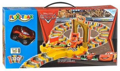 Cars Pit Stop – 120 Track Pieces – 100% NEW