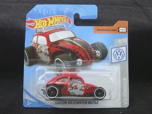傳奇車庫-歐版短卡 風火輪 福斯 CUSTOM VW BEETLE