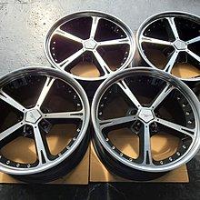 20吋正AC TYPE4原廠鋁圈~黑底亮面BMW.X3.X4.X5.X6.CAMRO.LS460.RANGE.TESLA