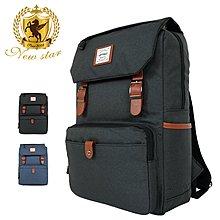 時尚拼接多口袋後背包包 筆電包 NEW STAR BK275
