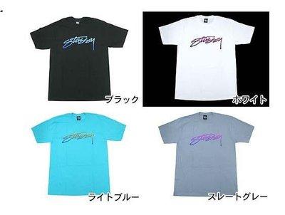 【 超搶手 】全新正品 2012 S/S 夏季 最新款 Stussy SS Dot Stock Tee 黑 白 灰色 土耳其藍  S M L XL