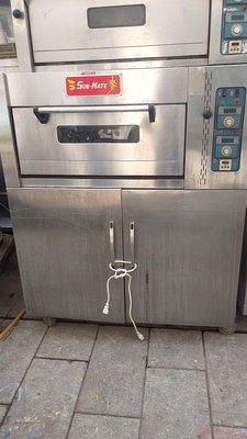 一層一盤瓦斯 烤箱 三麥公司出 有電110