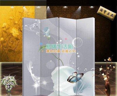 中式時尚家具屏風隔斷玄關時尚折屏酒店現代風格274【單扇防水】