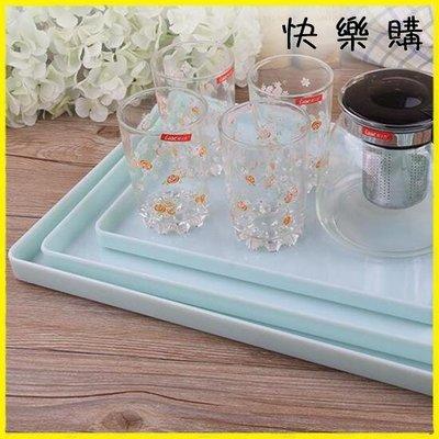 托盤 密胺茶具上菜水果盤餃子托盤長方形塑料家用創意茶盤杯盤