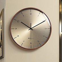 掛鐘 鬧鐘 創意鐘表北歐 掛鐘 客廳現代簡約時鐘時尚輕奢掛表靜音大氣掛墻家用