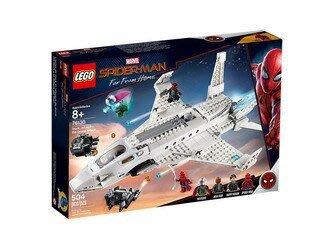 【小瓶子的雜貨小舖】LEGO 樂高積木 超級英雄系列Marvel 離家日 史塔克噴射機 & 無人機攻擊 LT-76130