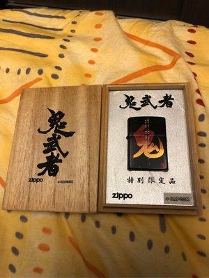 Zippo鬼武者第一代打火機6成新