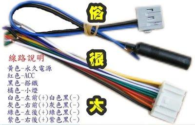 俗很大~NISSAN 裕隆 全新日產 TIIDA,LIVINA 原廠單片CD,MP3.USB主機 專用電源線組和天線線組