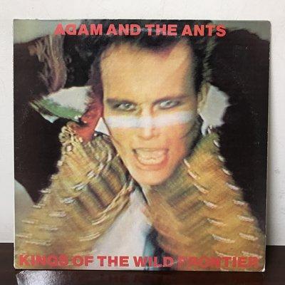 晨雨黑膠【西洋】美版/Adam And The Ants – Kings Of The Wild Frontier