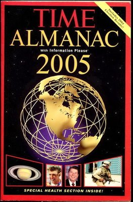 【語宸書店G20B/西文書】《Time Almanac 2005-With Information Please》ISBN:1932273352