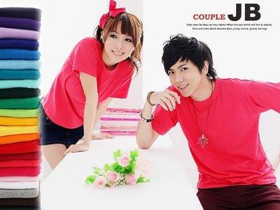 JB 專業衣廠【SJ07】4XL 號 男女百搭基本款 純精梳棉圓領素T 下標區