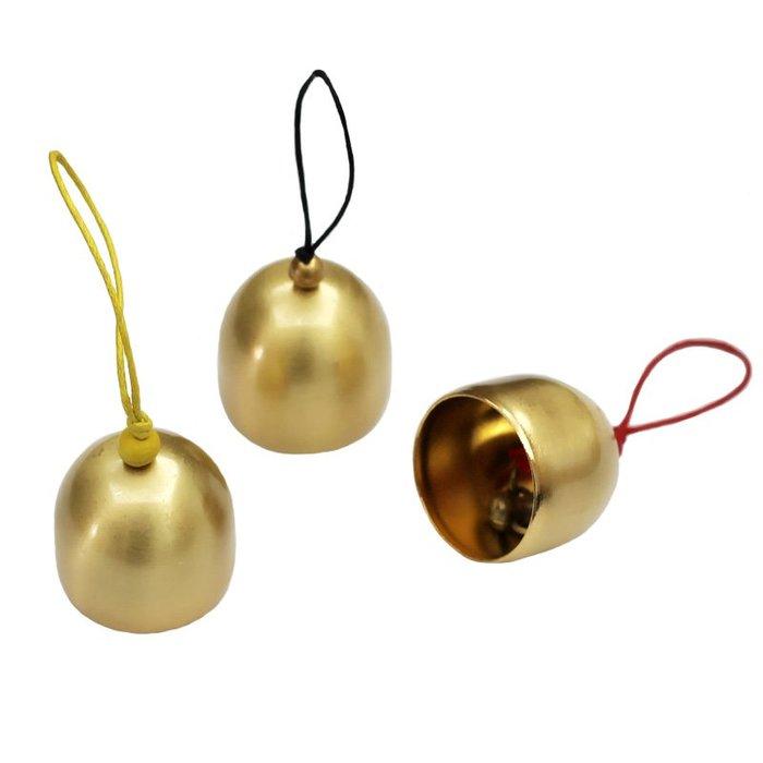 5個起標~風鈴及配件 純銅鈴鐺永生花配件 金屬小鈴鐺風鈴diy材料圣誕鈴鐺(規格不同 價格不同)