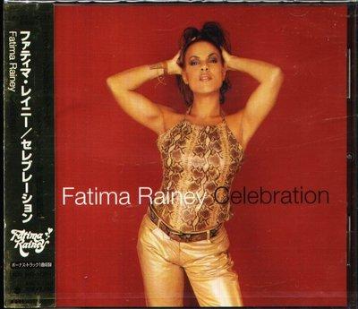 K - Fatima Rainey - Celebration - 日版 CD+1BONUS - NEW