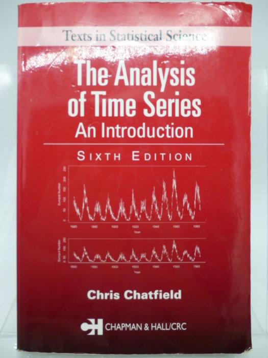 【月界】The Analysis of Time Series-6/e_Chris Chatfield〖大學社科〗AJD