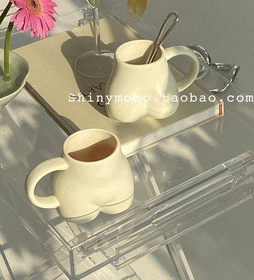 優生活~Shinymomo韓國ins博主同款陶瓷馬克杯人體咖啡杯