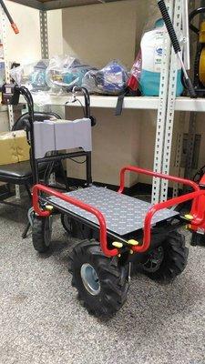 全新U-MO電動搬運車/採收車/田間搬運機(充電式)(無煙/無震動/低噪音/免保養)(適合農地/菜園/果園/溫室)免運費