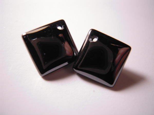 ※布箱子※ 串珠材料手作配件~寶石級菱型鋯石(B989)