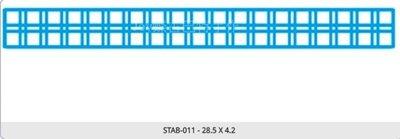 蝶古巴特   南美洲STAB-011-彩繪型染板