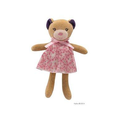 🌟正版🌟【 法國 Kaloo 】PETITE ROSE BEAR 直立印花熊 迷你 安撫玩偶 ( 迷你 )