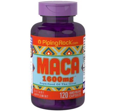 【Piping Rock 】maca 馬卡 1600mg 120顆