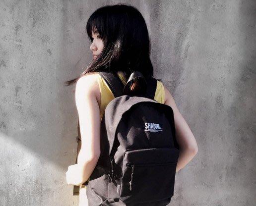 【車庫服飾】SHADOW STENCIL DAYPACK 背包 出遊 實用 尼龍後背包 黑色