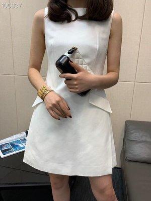 《巴黎拜金女》無袖連衣裙