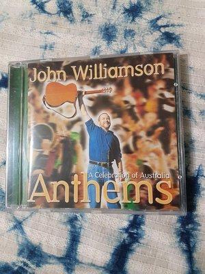 ~春庄生活美學小舖~2手CD           JOHN WILLIAMSON--ANTHEMS