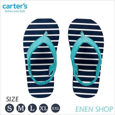 『Enen Shop』@Carters 條紋相間款夾腳拖鞋/人字拖/海灘鞋 #CS20T02H|S/M/L/XL/XXL