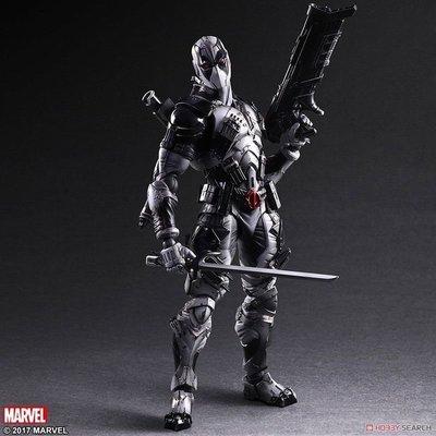 PLAY ARTS 改 Marvel 漫威 Deadpool 死侍 惡棍英雄 X戰隊版 X-Force版