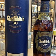 Glenfiddich 30 Years Old -Bottled 2009 (Old Packaging)
