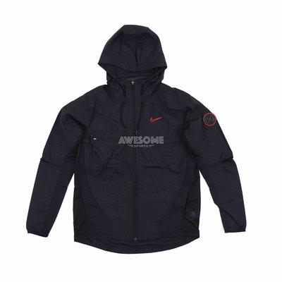 [歐鉉]NIKE 黑色 訓練 抽繩 夾克 連帽 薄外套 運動外套 男生 CU5000-010